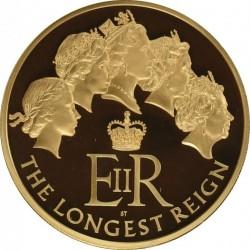 2月ピックアップ 2015年 英国 最高即位記念 5ozプルーフ金貨 NGC PF70UC