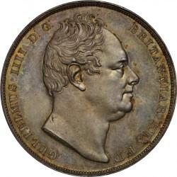 1831年 英国 ウィリアム4世 プルーフクラウン銀貨 PCGS PR63