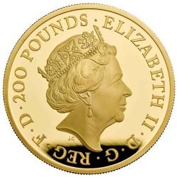 2019年 英国 プレミアム・ブリタニア 2オンスプルーフ金貨