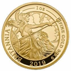 2019年 英国 プレミアム・ブリタニア プルーフ金貨6コインセット