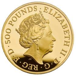 2019年 英国 プレミアム・ブリタニア 5オンスプルーフ金貨