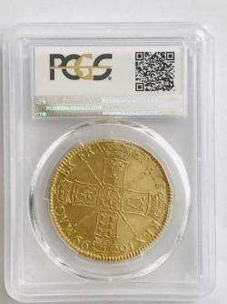 超お買い得!!1699年イギリス・ウィリアム3世 5ギニー金貨 PCGS AU53