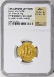 古代トラキア/スキタイ BC54 コソン スターテル金貨