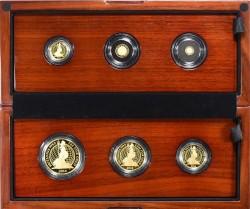 2014年 & 2016年 英国 ブリタニア 6枚プルーフ金貨セット