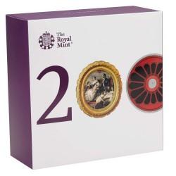 最後の一枚 入手が非常に困難 公的に販売される前に完売 海外280万円 発行70枚 2019年 英国 ヴィクトリア女王生誕200周年 5オンスプルーフ金貨