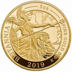 2019年 英国 ブリタニアプルーフ5オンス金貨 PCGS PR69DCAM