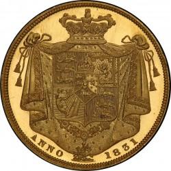 1831年 英国 ウィリアム4世 プルーフ 2ポンド金貨 PCGS PR63+ DCAM