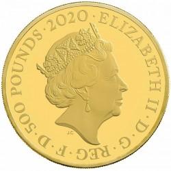 2020年 英国 ジェームス・ボンド スペシャルイシュー 5オンスプルーフ金貨