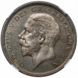 1936年 英国 ジョージ5世 プルーフクラウン銀貨 NGC PF64+