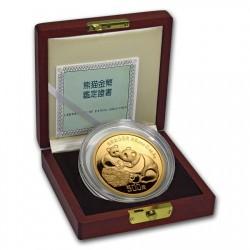 1987年 中国 パンダ5オンスプルーフ金貨