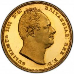 1831年 英国 ウィリアム4世 2ポンドプルーフ金貨 PCGS PR64DCAM