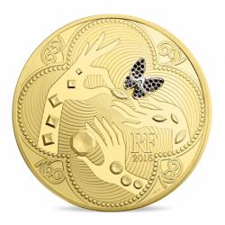 世界に11枚しか存在しない 2016年 フランス ヴァン クリーフ&アーペル110周年記念 1キロプルーフ金貨