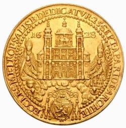 1628年 オーストリア ザルツブルク12ダカット金貨 PCGS MS60