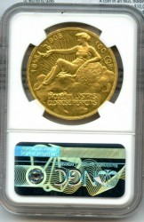 1908年  オーストリア 100コロナ 雲上の女神プルーフ金貨 NGC PF60