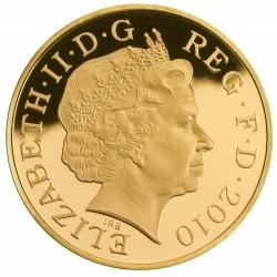 写真を追加しました!2010年 英国 王政復活350年記念5ポンドプルーフ金貨