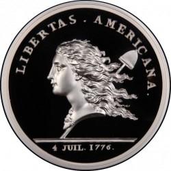 最終価格 1781年(リストライク 2015年) フランス リベリタス・アメリカーナ 1キロプルーフ銀貨 NGC PF69UC