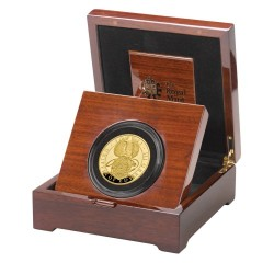 最後の一枚 2021年 英国 クイーンズ ビースト エドワードIII グリフィン 5オンスプルーフ金貨