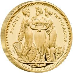 2020年 英国 スリーグレイセス 5オンスプルーフ金貨