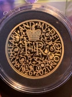画像追加!! 2021年 英国 エリザベス二世95歳記念 5オンスプルーフ金貨