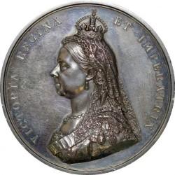 1887年 英国 ヴィクトリア戴冠50年シルバーメダル