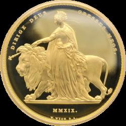 2019年 英国(ロイヤルミント社)ウナライオン 1キロプルーフ金貨