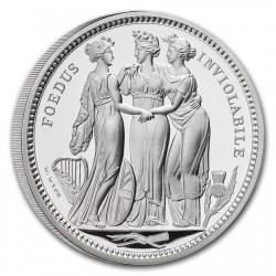 最大50枚 2021年 英国(ロイヤルミント社) スリーグレイセス 2キロプルーフ銀貨