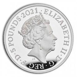 4月上旬発送 2020年 英国 スリーグレイセス 1キロプルーフ銀貨