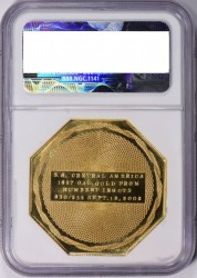鋳造わずか375枚のみ 2.5オンス 2008 ハンバート $50 記念 Kellogg & Humbert Gold 181 of 375
