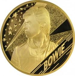 2020年 英国 ミュージック・リジェンド デヴィッド ボウイ 1キロプルーフ金貨