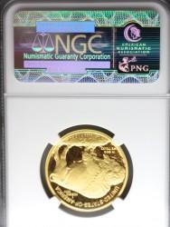 2008年 アメリカ $25バッファロープルーフ金貨 NGC PF70UC アーリーリリース