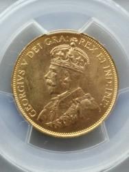 1913年 カナディアン $10金貨 PCGS MS64