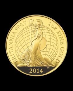 価格上昇中 2014プレミアムブリタニアプルーフ金貨6枚セット