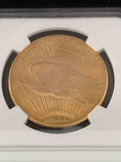 最高鑑定 存在数2枚 1928年 アメリカ セントゴーデンズNGC MS67+ CAC