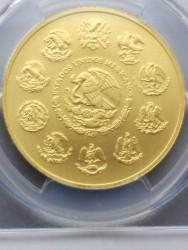 最高鑑定 2013年 メキシカン リベルタード金貨 PCGS MS70