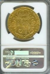鑑定数わずか5枚 1691年英国ウィリアム&メアリー5ギニー金貨NGC XF40