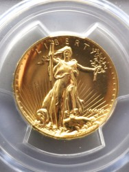 2009年 米国 ウルトラハイリリーフ金貨 PCGS MS70PL ビンテージラベル
