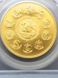 最高鑑定 2011年 メキシカン リベルタード金貨 PCGS MS70