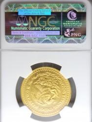 最高鑑定 1992年 1/2オンス メキシカン リベルタード金貨 NGC MS67