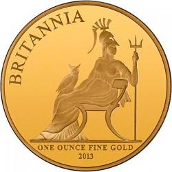 最大わずか400枚 2013年英国ブリタニア プルーフ金貨5枚セット NGC PF69UC