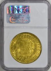 1804年 チリ 8エスクード金貨 NGC MS62