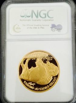 2006年 アメリカ バッファーロープルーフ金貨 NGC PF70UC