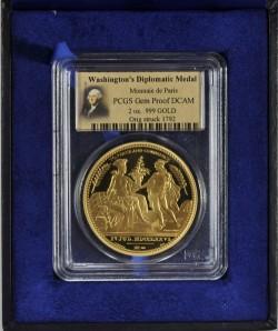 2013年フランス ワシントン外交記念 2oz 金貨