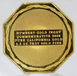2008年ハンバート2.5オンス金貨 NGC Gem Proof