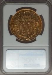 早い者勝ち! 6番目 1692年 英国 ウィリアム&メアリー 5ギニー金貨 NGC AU53
