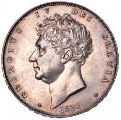 激レア 大幅値下げ 発行150枚のみ 1826年 英国 ジョージ4世 プルーフクラウン銀貨