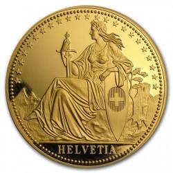 1987年 スイス 12オンス プルーフ金貨