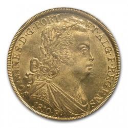 最高鑑定 1810年 ブラジル 6400レイス金貨 NGC MS64
