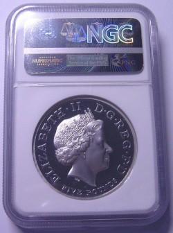 2005年 英国 ピエフォー プラチナ貨 ホレーショ・ネルソン NGC PF69 Ultra Cameo
