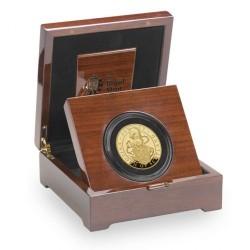 発行75枚のみ 2017年 英国 クーンズ・ビースト ユニコーン・オブ・スコットランド 5オンスプルーフ金貨