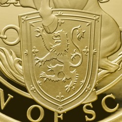 発行400枚のみ 2017年 英国 クーンズ・ビースト ユニコーン・オブ・スコットランド 1オンスプルーフ金貨